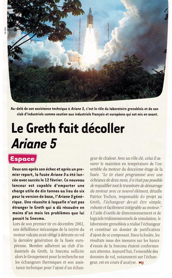 Ariane 5 - Article