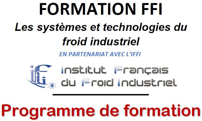 Formation Froid Industriel - FFI - Octobre 2020