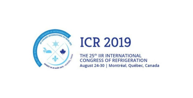 25ème Congrès international du froid de l'IIF @ Palais des congrès de Montréal