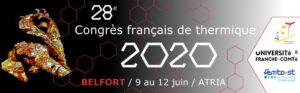 28ème congrès français de thermique – SFT 2020