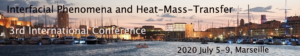 Interfacial Phenomena and Heat-Mass-Transfer - 3rd International Conference @ Marseille