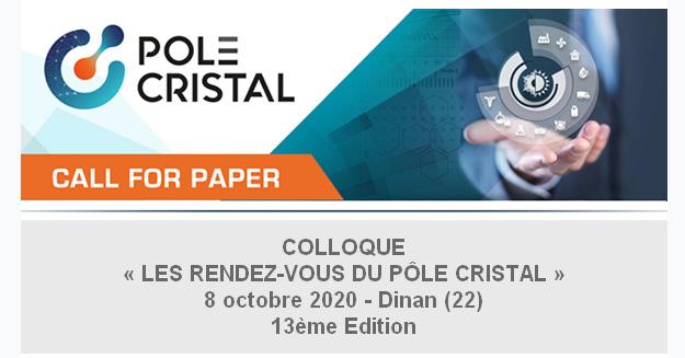 Colloque Les Rendez-vous du Pôle Cristal - 13ème Édition @ Dinan